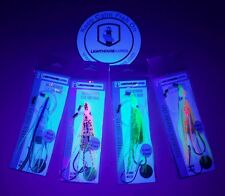 4-Salmon and Trout Lures Electronic Fishing Lures Glow Spatterback lures.