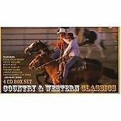 Country and Western Classics 4 CD Box Set Kenny Rogers Willie Nelson Johnny Cash