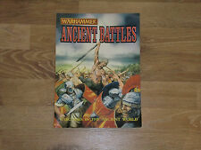 Warhammer Ancient Battles Signed by Alan Perry & Michael Perry