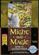 Might and Magic: Gates to Another World (Sega Genesis, 1991)