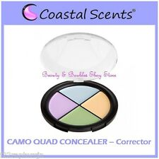 NEW Coastal Scents CAMO QUAD CONCEALER Compact - Color Corrector FREE SHIPPING