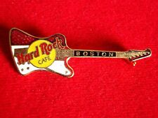 HRC Hard Rock Cafe Boston Red White Firebird Guitar