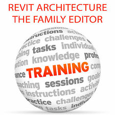 REVIT ARCHITECTURE The Family Editor - Video Training Tutorial DVD