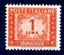 ITALIA 1947 - SEGNATASSE 1  Lire RUOTA NUOVO **