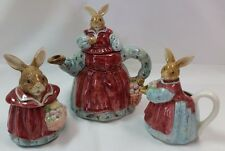Otagiri Rabbit Teapot The Edith Collection Lot