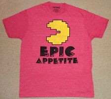 Pac Man Epic Appetite Distressed Shirt Large Licensed