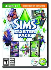 The Sims 3: Starter Pack w/ Late Night & High-End Loft [PC-DVD MAC Computer] NEW