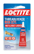 NEW! LOCTITE High Strength Gel Threadlocker 271 Red 209741