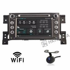 Car DVD GPS Player 3G Navi Radio For Suzuki Grand Vitara 2005 2012 Free Camera