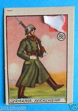 ss figurines cromos figurine v.a.v. vav la guerra nostra 88 germania reichswehr