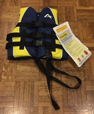 NWT Airhead Life Vest Waterski Wakeboard Vest Size Child 30-50 Lbs