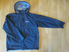 Berghaus Womens AQ2 Waterproof Jacket Coat Size 16 Navy Blue Excellent Condition