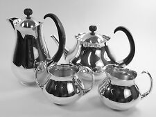 MAPPIN & WEBB Silver Plate - Eric CLEMENTS Pattern - 4 Piece Tea Set