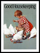 Jessie Willcox Smith Good Housekeeping Poster Bild Kunstdruck und Rahmen 40x30cm