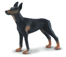 Dobermann Pinscher 3 9/10in dogs and cats Collecta 88086