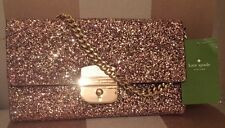 NWT Kate Spade Milou Sunset Lane In Rosegold Evening Bag Clutch Purse