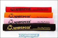 Windspeed Neoprene Chainstay Guard Protector 4 Colours - Red Yellow Orange Black