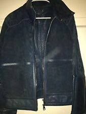 RARE Louis Vuitton Suede & Leather Jacket, Runway, Medium, Sample 100% Authentic