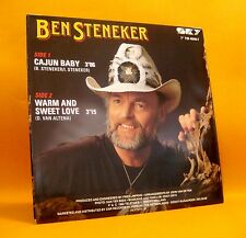 "Vinyl 7"" Single 45 Ben Steneker Cajun Baby 2TR 1991 (MINT) Country Pop RARE !"