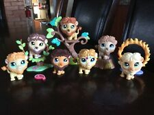 LPS Littlest Pet Shop Lot Of 7 Lion # 809 1112 944 1004 2226 1874 1576 + Acc