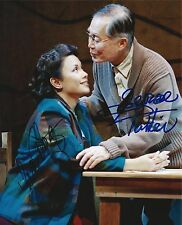 George Takei & Lea Salonga signed Allegiance Broadway 8x10 Photo