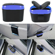 Car Trash Garbage Rubbish Bin Flip Case Can Box Litter Container With Hook SY