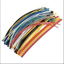70Pcs 2:1 Assorted Polyolefin Heat Shrink Tubing Tube Sleeving Wrap Wire Cable
