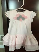 NWT EMILE ET ROSE PINK DRESS WITH BLOOMERS BABY INFANT GIRL 6 MO BEAUTIFUL!