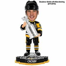 SIDNEY CROSBY PITTSBURGH PENGUINS STANLEY CUP CHAMPIONS 2016 BOBBLEHEADS
