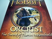 D1503191 ORCRIST SWORD THE HOBBIT UNITED CUTLERY MINTY IN BOX THORIN OAKENSHIELD