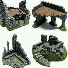 Wargames Scenery Terrain 28mm Resin Ruins - Frostgrave, Age of Sigmar, WH40K