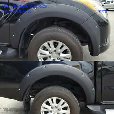 Mazda Bt50 Pro 2012 2017 Black 6Inch Fender Flare Flares Nuts Wheel Arch Arches