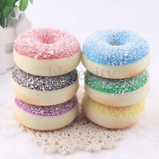 Squishy Shredded Coconut Donut Food Charms Key/Bag/Cell Phone Straps Pendent