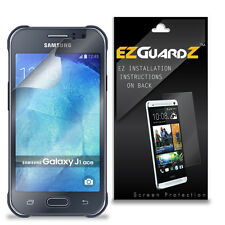 3X EZguardz LCD Screen Protector Skin HD 3X For Samsung Galaxy J1 Ace (Clear)