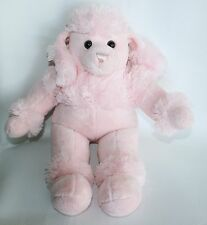 Wacky Bear PINK French Poodle Plush Stuffed Puppy Dog Lovey Toy Animal 17""