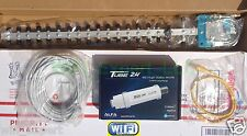 WiFi Antenna 18dBi YAGI + ALFA PoE TUBE 2H Outdoor Booster GET FREE INTERNET