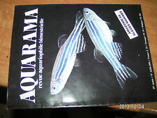 Aquarama n°122 Decor perso Trogonophis Aquarium marin hollandais  Ampullaire
