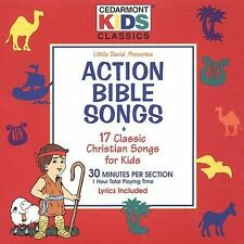 Action Bible Songs by Cedarmont Kids (CD, Mar-1994, Benson Records) NIP