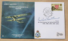 RAF B4 HANDLEY PAGE 0/400 1982 COVER SIGNED AIR CHIEF MARSHAL MICHAEL BEETHAM
