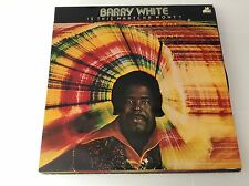BARRY WHITE Is This Watcha Wont? 1976 UK 20TH CENTURY RECORDS VINYL LP BTH 516