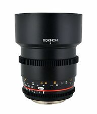 New Rokinon 85mm T1.5 Cine Aspherical Lens for Nikon F Mount CV85M-N