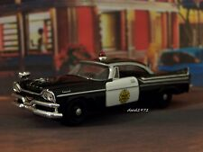 57 1957 DODGE CORONET POLICE CAR 1/64 SCALE DIECAST COLLECTIBLE MODEL - DIORAMA