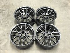 "18"" Avant Garde M359 Wheels Gloss Gun Metal BMW 1 3 Series E81 E82 E87 F20 E46"