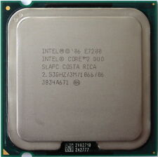 Intel Core 2 Duo E7200 2.53GHz 3MB 1066MHz SLAPC LGA775 CPU Desktop Processor
