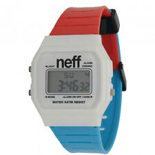 Neff Men's Flava Watch Red/White/Blue Fashion Sportive Athletic Skater