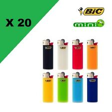 Lot de 20 bic mini Briquet BIC Mini Petit Modèle J25 Lighter X 20 briquets bic