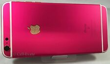 Apple iPhone 6S Plus - 64GB - Custom Hot Pink 24K 24ct Gold Swarovski Crystal