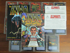 INWO Complete Limited, Assassins, and Subgenius sets with promos