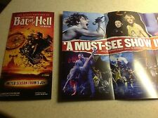 BAT OUT OF HELL The musical Meat Loaf London Coliseum Flyer x2 Jim Steinman