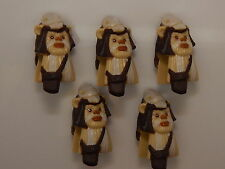 Lego Lot Of 5 Logray (Ewok) Star Wars Minifigure Covers NEW